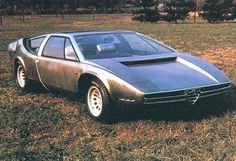 1969 Alfa Romeo-Ital Design Iguana Coupe