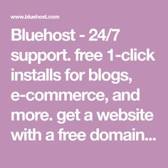 Bluehost - Choose only the best for your web hosting needs. Take a closer look and compare Bluehost's Web Hosting Plans and get the best deal today.