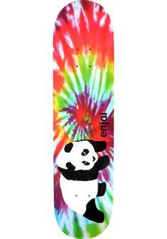 Enjoi Original-Panda-Tie-Dye-R7, Deck, multicolored Titus Titus Skateshop #Deck #Skateboard #titus #titusskateshop