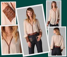0dd626ee31a 45 неожиданных идей для твоей рубашки. Изображение №9. Remake Clothes