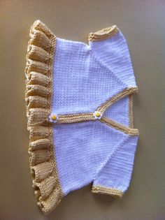 Ravelry: Project Gallery for Blossom Bolero (baby & toddler sizes) pattern…