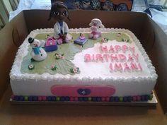 Doc McStuffins cake.