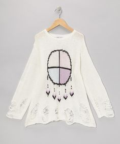 Wildfox Couture Clean White Gypsy Baby Lennon Sweater on zulily today!