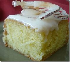 Coconut Rum cake--it's like the Caribbean in your mouth!!!