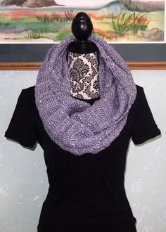 A personal favorite from my Etsy shop https://www.etsy.com/listing/479478959/lavender-silver-sequin-infinity-scarf