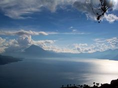 Panoramic View of Lake Atitlán