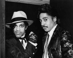 Love this pic of Prince Rogers Nelson & Little Richard