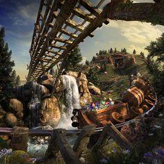 All in the Details: Seven Dwarfs Mine Train at Magic Kingdom Park