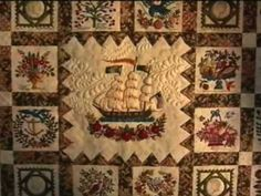 WOULD BE GREAT TO WATCH THIS BEFORE BEGINNING THE QUILT                 PC  DVD TRAILER: Elly Sienkiewicz Teaches You Baltimore Applique DVDs