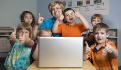 Photo about Children and teacher play and learn while using a laptop computer at the preschool class. Image of girl, interactive, classes - 14997836 Class Dojo, Preschool Class, Flipped Classroom, Girls Image, Pre School, Teacher, Stock Photos, Learning, Children