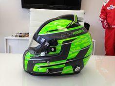 Racing Helmets Garage: Stilo ST4W Carbon D.Kemper 2013 by Brett King Design