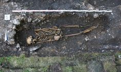 The skeleton of a middle-aged man may have been missing a lower limb but in its place researchers found a wooden 'foot'
