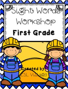 Sight Words / Dolch Words / First Grade from ESL Village on TeachersNotebook.com -  (41 pages)  - Sight Words Workshop / First Grade   As we know, students need to actively interact with the commonly used English words they are learning and using each week.