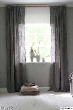 gardiner,grått,koppar,sovrum,linnegardiner