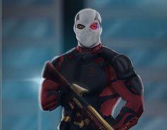 Deadshot, Batman, Dc Characters, Dc Universe, 3 D, Marvel, Portfolio, Superhero, Wallpaper