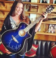 """Daisy Rock Acoustic/Electric """"Wildwood"""" Artist Guitar and Carter Girl CD, Both Signed by Carlene Carter"""