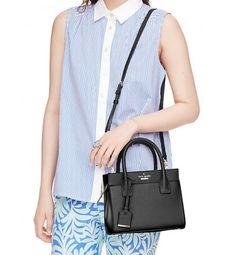 Kate Spade Cameron Street Mini Candace Bag Black.  #outfits  #tote