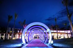 AMR Resort Breathless is officially open! What a cool entrance! #AMRBreathless