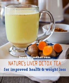 liver cleanse remedies Learn how you can detox your liver by making a delicious and soothing turmeric tea using the powerful liver cleansing herb, turmeric. - Turmeric Tea, a powerful liver cleansing tonic Liver Detox Drink, Liver Detox Cleanse, Detox Your Liver, Body Detox, Detox Drinks, Diet Detox, Health Cleanse, Detox Juices, Detox Foods