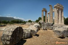 Nemea: Wine and Archaeology Destroyer Of Worlds, Wineries, Archaeology, Mount Rushmore, Temple, Greece, Earth, Travel, Greece Country