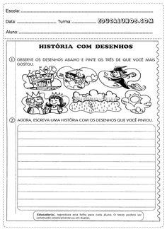 História com desenhos