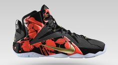 Customize Your Nike LeBron 12 With The New Floral Print Option on ...