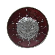 Fashion red sun logo god cowboys belt buckles metal DIY brand luxury mens pin buckle designer Christmas gift