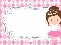 Niver de Sofia Ballerina Birthday Parties, Ballerina Party, Cv Manager, Logo Online Shop, Thank U Cards, Personalized School Supplies, Girl Birthday Decorations, School Labels, Sofia Party