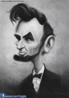 Abraham Lincoln by Pfeil