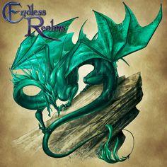 Endless Realms bestiary - Malachite Dragon by jocarra on DeviantArt