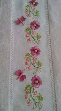 New Ideas Embroidery Designs Machine Embroidery Designs Machine Indian Suits, Border Embroidery Designs, Floral Embroidery Patterns, Embroidery Stitches Tutorial, Free Machine Embroidery Designs, Beaded Embroidery, Geometric Embroidery, Indian Embroidery, Embroidery On Kurtis, Brazilian Embroidery