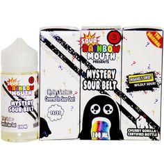 Mystery Sour Belts - Rainbow Mouth E Liquid #eliquidwholesale