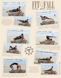 Total Body Sculpt from blogilates beauty-health. These moves look like they can done anywhere!