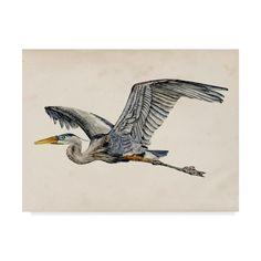 Heron Tattoo, Seagull Tattoo, Crane Tattoo, Blue Heron, Artist Canvas, Canvas Art Prints, Canvas Canvas, Canvas Size, Framed Artwork