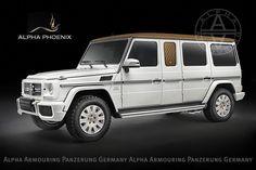 Imagini - Un alt buncăr luxos Mercedes: G63 AMG de la Alpha Armouring