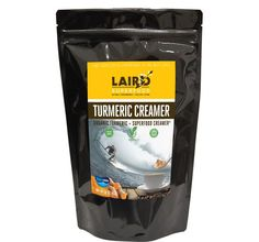 LAIRD SUPERFOOD TURMERIC CREAMER™ NEW PRODUCT! | POWDER FORM | DAIRY FREE | GLUTEN FREE | VEGAN | SOY FREE | NON-GMO