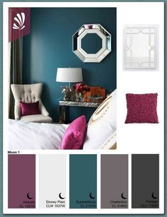 Amazing pallet for coloring your home Great idea!!