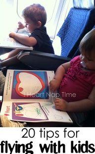20 kid friendly tips for long flights