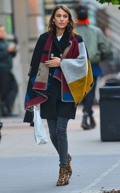 Alexa Chung Photos: Alexa Chung Out And About In NYC