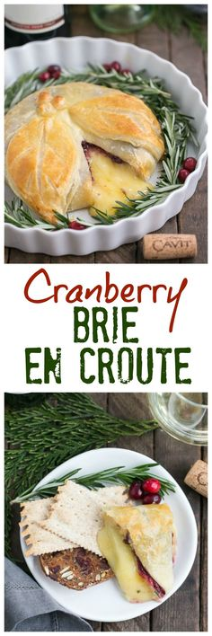 """Cranberry Brie en Croute 