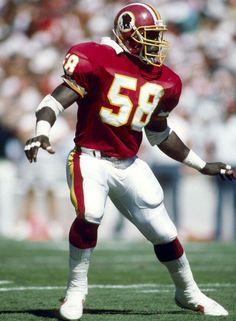 Wilbur Marshall of the Washington Redskins.