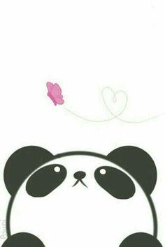 Imagen de panda, kawaii, and wallpaper: - Imagen de panda, kawaii, and wallpaper: La meilleure image selon vos envies sur diy crafts Vous cher - Cute Panda Wallpaper, Kawaii Wallpaper, Iphone Wallpaper, Kawaii Panda, Kawaii Cute, Panda Wallpapers, Cute Wallpapers, Desktop Wallpapers, Kawaii Drawings