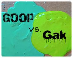 A Clubhouse Classroom showdown, Goop against Gak! How do you make them? Which is more popular with the kids? Which is much easier to clean up? Results may surprise you :)