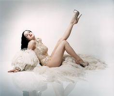 Dita Von Teese - Perou Photoshoot 2005 for Flaunt Magazine