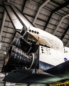 Main Engines Endeavour - OV-105 #space #shuttle #Endeavor