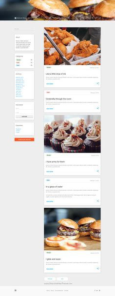 Verso unique responsive multipurpose bootstrap 4 html template material blog is a google design inspired lightweight 6 in 1 bootstrap template for creative creative foodwriterstemplatesrecipe forumfinder Images