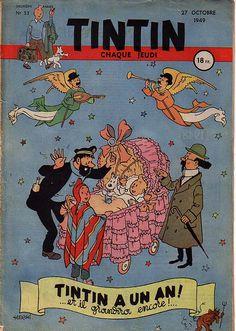 Journal de TINTIN édition Française n° 53 du 27 Octobre 1949
