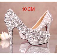 Glitter high heels Online store : http://www.getmorebeauty.com