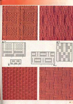 Burda 2003 1 E682 Nejkrásnější vzory - Isabela - Knitting 2 - Picasa Webalbums