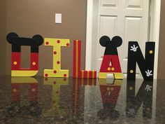 Hey, I found this really awesome Etsy listing at https://www.etsy.com/listing/460343624/mickey-mouse-custom-name-letters-price